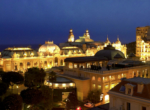 Hotel Metropole Monte Carlo Areal night view