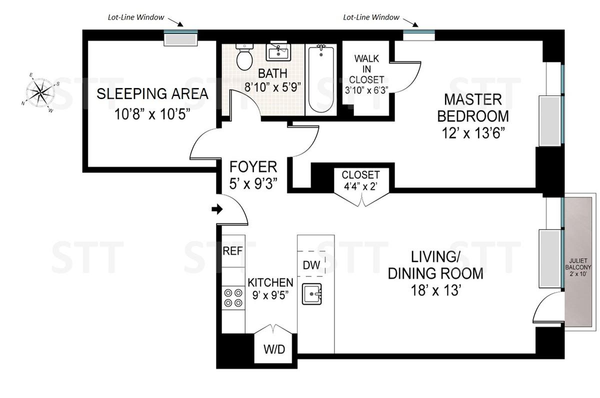 2 Bedrooms Bedrooms, ,1 BathroomBathrooms,Condo,For Sale,1085